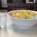 食道楽 - 中華丼サイズ比較