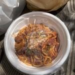 大衆肉居酒屋 ブルーキッチン - 特製赤ミートソースパスタ