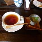 隠れ家・樹にあ - ゆずゼリー&紅茶