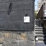 四間道レストランMATSUURA - 横の細い階段を上り・・・☆
