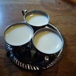 喫茶fe カフェっさ - ミルク