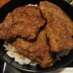 レストラン サンサワ - ソースかつ丼(アップ)