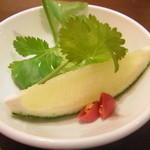 タイ ベトナム料理 GreeN - フォーの薬味