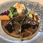 Grill Hana Chocolat - 牛ほほ肉の赤ワイン煮込み