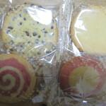 ステラおばさんのクッキー - 4種類のクッキー