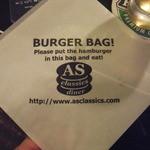 エーエス クラシックス ダイナー - この袋に入れて食べて!
