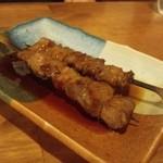 もつ焼き 酒場野田 - 2012.5 かしら素焼きタレ(1串130円)