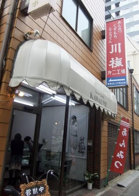 カワウメ - 入口