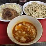 蓮爾 - 【2020.3.21】小つけ麺880+巻きチャー炙り200円
