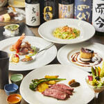 S Spiral - 季節のコースと20種以上の日本酒