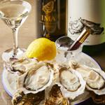 S Spiral - 産地直送の旬の生牡蠣と日本酒のマリアージュ