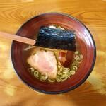 川出拉麺店 - 伊勢あさくさ海苔ラーメン