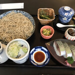えびす - 料理写真:鯖寿司膳