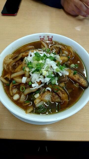 東龍 - 東龍麺 890円
