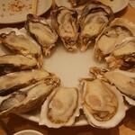 オイスタープレート - 生牡蠣最高