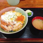 いとう食堂 - 料理写真:Wとん(1000円)