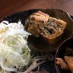 串かつ ゑびす - 玉子焼き