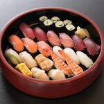 にぎり寿司 三人盛り