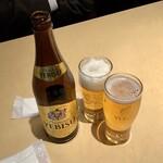 あげな - 瓶ビール(中瓶)/エビス 550円
