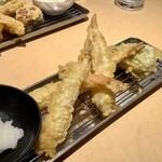 あげな - 【えび天定食 990円】メインの天ぷら