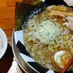 つけ麺 おんのじ - おんのじラーメン(並) ライス