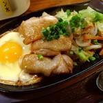 花千里 - 料理写真:鉄板じゅ~