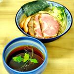 麺処 有彩 - 昆布水つけ麺(醤油)