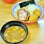 麺処 有彩 - こってりつけ麺+味玉2