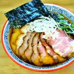 麺処 有彩 - あっさり醤油+チャー