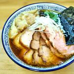 麺処 有彩 - あっさり醤油+チャー+雲吞