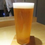 もと井 - 生ビール キリン一番搾り 700円。     2020.03.27
