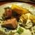 もと井 - 料理写真:知多三州牛のフィレ炭火焼き:ミディアムレアに焼かれたフィレ肉には行者にんにくが振りかけられ、桑名産 筍木の芽焼、胡桃の甘煮がのった白和え、山葵 が添えられています。 とても美味しかったですョ!     2020.03.27