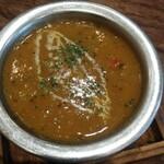 炭鳥庵 - 料理写真:チキンマサラ