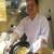 もと井 - その他写真:炊きあがったばかりの 桜海老と牛タンの土鍋炊き込みご飯を紹介する大将。     2020.03.27