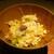 もと井 - 料理写真:桜海老と牛タンの土鍋炊き込みご飯:桜海老、牛タンが土鍋で炊き込まれ、蕗が散りばめられています。 茶碗によそってから錦糸卵がかけられます。     2020.03.27