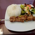 メイハーネ オゼリ - 料理写真:串刺しラム肉セット980円税込