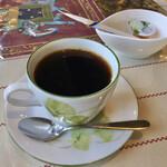 インド料理レストラン ナマステ - 食後にコーヒを