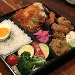 たくあん・牡丹亭 - イタリアンハンバーグ御膳(折箱)1250円