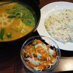 129163410 - 野菜スープカレー 970円(税込)