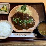 とん八 - 味噌とんかつ定食