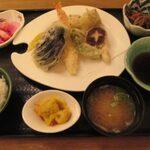蔵王山麓あずきや - 天ぷら定食
