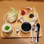 喫茶 ピットイン - これでコーヒー代のみの400円♪