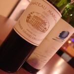 ビストロ&ワイン エスポワール - 【ワインバー】あの高級ワインもグラスで飲める! シャトーマルゴー