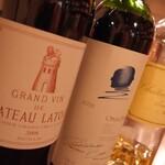 ビストロ&ワイン エスポワール - 【ワインバー】あの高級ワインもグラスで飲める! オーパスワン、シャトーラトゥール
