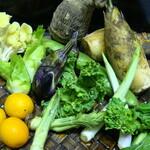 ビストロ&ワイン エスポワール - 【野菜】春野菜 バーニャカウダ
