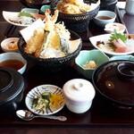 斗度季 - 料理写真:天ぷら定食