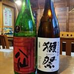 大舟 - 陸奥八仙 新春祝酒 純米吟醸 / 獺祭45 各@700円