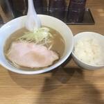 ラーメン屋 游 - ラーメンライス700円!
