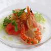 Daikanyama ASO Celeste - 料理写真:タラバ蟹のカネロニ仕立てと雲丹、海老、帆立のサラダ