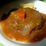 ビストロハイチ - 料理写真:ハンバーグステーキ(750円)